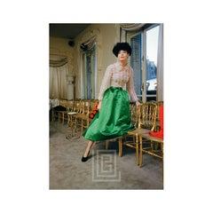 Balenciaga, Green Skirt, 1953