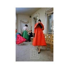 Balenciaga, Orange Coat Front, 1953