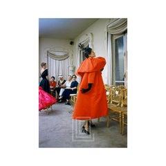 Balenciaga, Orange Coat Side, 1953