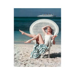 Beach White Chair, Circa 1955