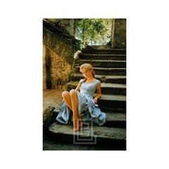 Brigitte Bardot in Braids Crossed Ankles, 1958