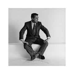 Cary Grant Seated Looks Left, 1955