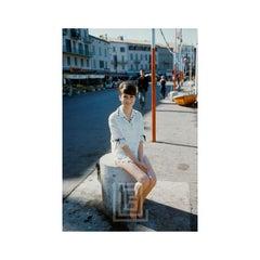Catherine Deneuve at Sixteen in St. Tropez 1961