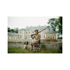 Chateaux, Mme. Rigaud with Springer Spaniels, 1957