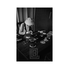 Coco Chanel Creates Jewelry, 1957