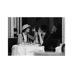 Coco Chanel Lunches with Jessica Daves at the Ritz, 1957