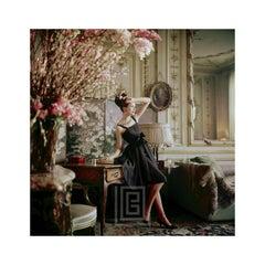 Designer's Homes, Dior Black Dress at Miss Luling's, 1960