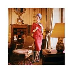 Designer's Homes, Dior Pink Suit, 1960