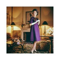 Designer's Homes,  Dior Purple Dress, 1960