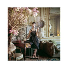Designer's Homes, Dior Smoking Black Dress, 1960