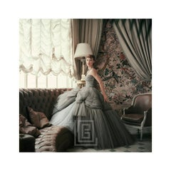 Designer's Homes, Sophie Malgat wears Dior in Dior's Passy Home, 1953