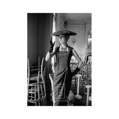 Dior, H-Line, Touching Fur Hat, 1954