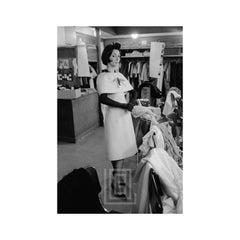Dior, Model Kouka wears Novia while Standing, 1959