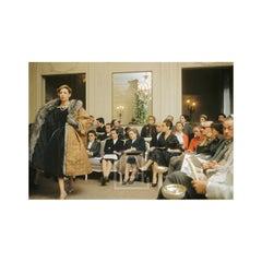 Dior, Model Wears Tokyo for Buyers, 1954