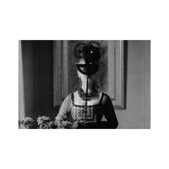 Dior, St. Laurent's Mask with Lola Dress, 1958.