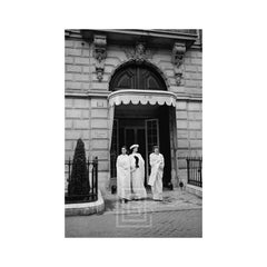 Dior, Three Models in Doorway, 1956