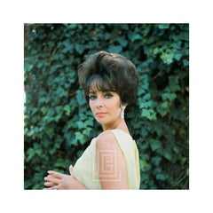 Elizabeth Taylor in Yellow Chiffon, Shoulder Glance, 1961