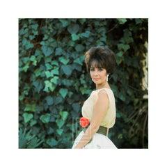 Elizabeth Taylor in Yellow Chiffon, Side View 4,1961
