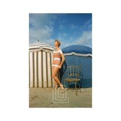 Givenchy, Model at Trouville, 1957