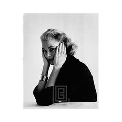 Grace Kelly, Head Resting in Hands, 1954
