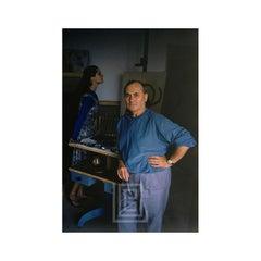 Joan Miro Portrait in Blue, 1955
