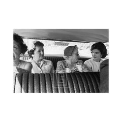 Kennedy Campaign, Jackie in Car with Local Ladies, 1959