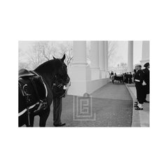 Kennedy, Funeral, Riderless Horse with Backwards Boot, 1963