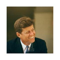 Kennedy, John Color Portrait, Smiling Left