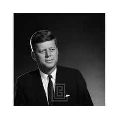 Kennedy, John F. Portrait, Front, Mouth Closed, 1959
