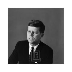 Kennedy, John F. Portrait, Left Shoulder Front, Talking v1, 1959
