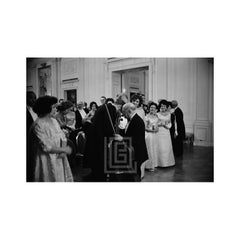 Kennedy, John Talks to Pablo Casals at White House Concert, 1961