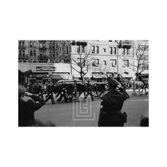 Kennedy, Officers Salute JFK's Casket, 1963