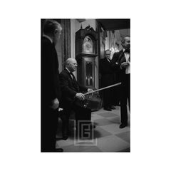 Kennedy, Pablo Casals Seated at White House Concert, 1961