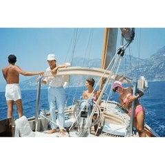 Kennedy, Ravello Trip, Gianni & Marella Agnelli on Their Yacht