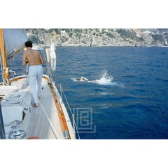 Kennedy Ravello Trip, Jackie Swimming with the Agnellis, 1962