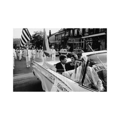 Kennedys, John and Jackie in Campaign Car