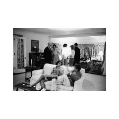 Kennedys, Kennedy Party at thier Home in Hyannis Port, 1959