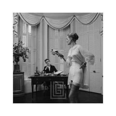 Lingerie with Secretary, 1952.