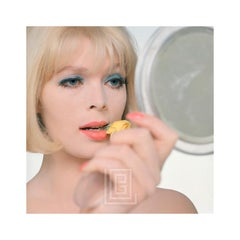 Nico with Flower and Mirror, Close Up, 1960