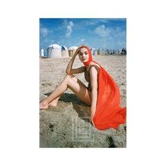 Orange Scarf on Beach at Trouville, 1957