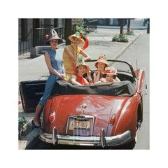 Red Jaguar, Beach Hat Models, 1959
