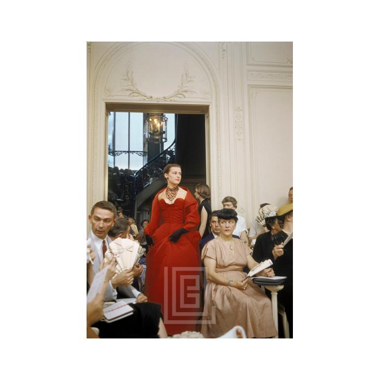 2238eeb645 Mark Shaw - Salon Dior Portobello Red Gown