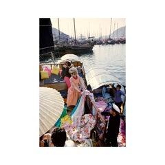 Tiger Morse in Peach Boat 01, Hong Kong, 1962