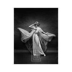 Vanity Fair Sheer Robe Blowing, Circa 1955