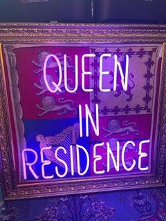 Queen In Residence Neon Blue