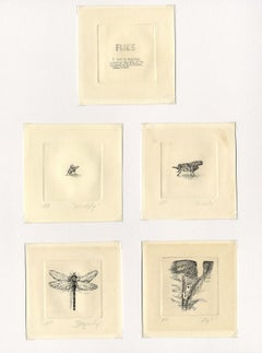Suite of Flies (Portfolio of etchings with a sense of humor0