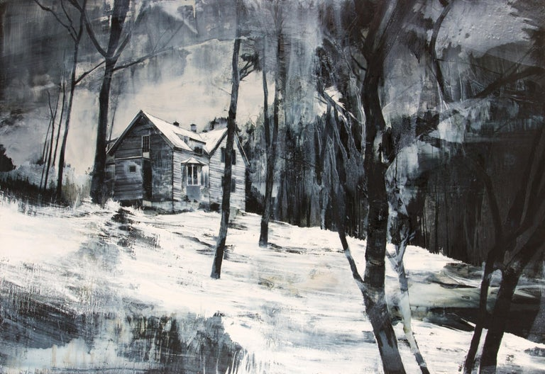 Mark Thompson Landscape Painting - Last morning