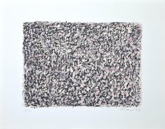 Horizontal Composition - Original Lithograph by Mark Tobey - 1967