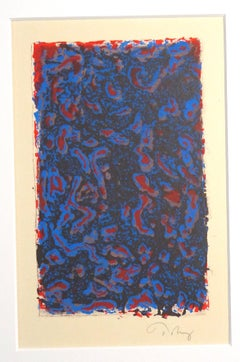 Untitled - Colored Composition - Mark Tobey - Serigraph - Contemporary