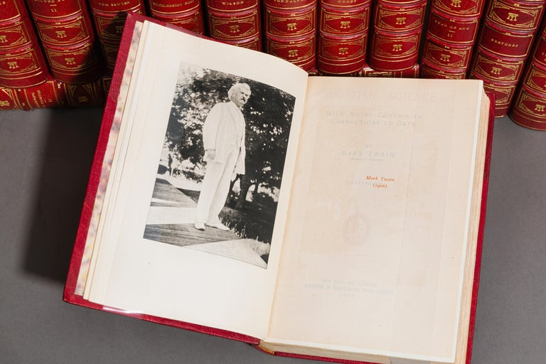 Mark Twain, The Writings In Good Condition For Sale In New York, NY